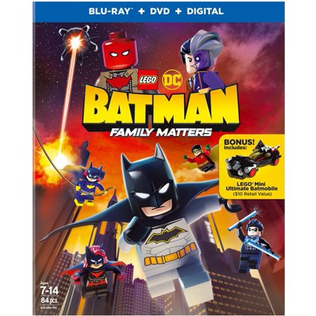 LEGO DC: Batman: Family Matters (Blu-ray + DVD)