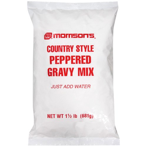 Morrison's Country Style Peppered Gravy Mix, 24 oz