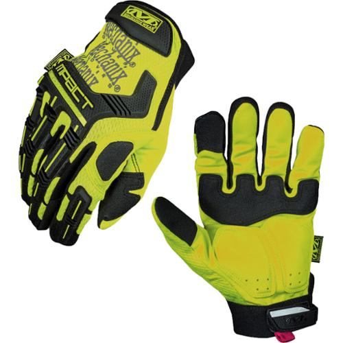 Mechanix Wear Safety M-Pact Protection High-Visibility Gloves - Yellow - Medium