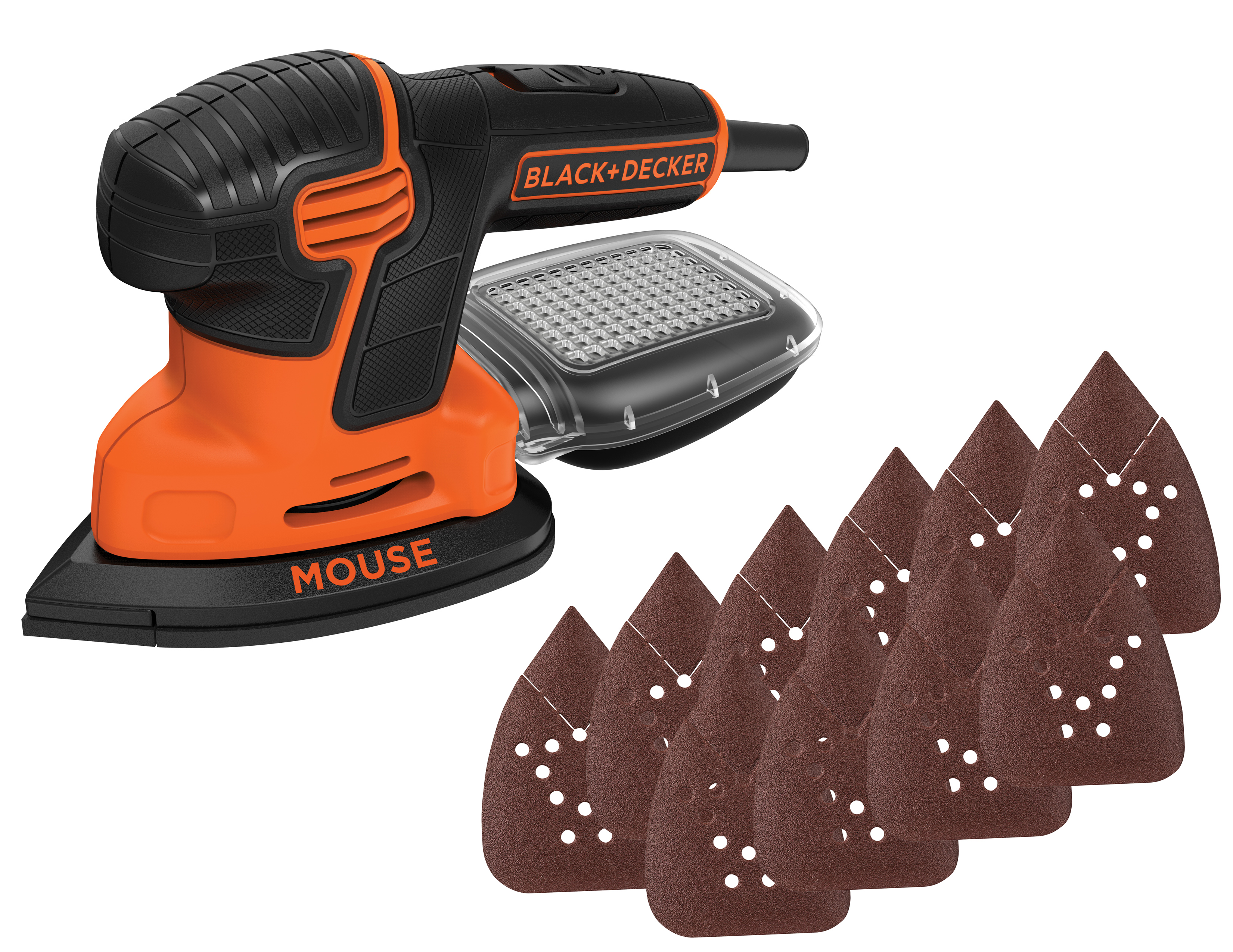 Black & Decker BDEMS600VA Mouse Detail Sander with Bonus Sandpaper by Stanley Black & Decker