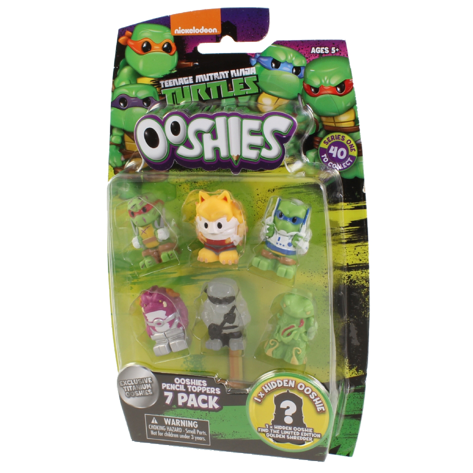 Ooshies TMNT 7-Packs #2