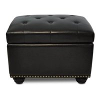 Convenience Concepts Designs4Comfort No Tools 5th Avenue Storage Ottoman, Multiple Colors