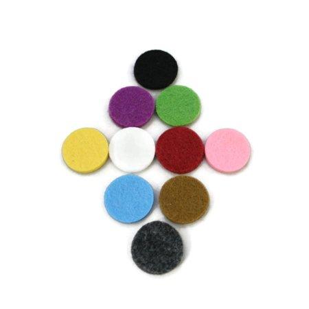 22.5mm Replacement Pads for 30mm Diffuser Necklaces- Set of 10