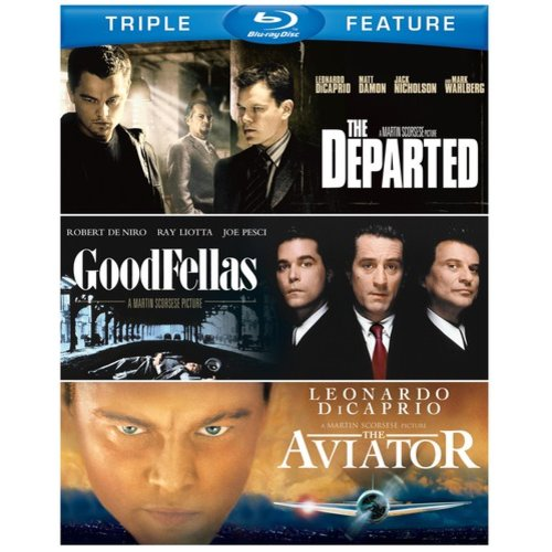 Martin Scorcese Triple Feature: The Departed / Goodfellas / The Aviator (Blu-ray) (Widescreen)