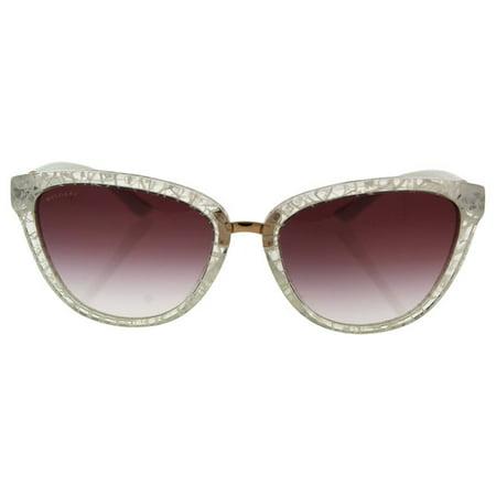 Bvlgari BV8165 5375/8H - Women's White/Violet Gradient Sunglasses