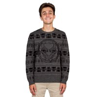 Marvel Comics Black Panther Logo Adult Ugly Christmas Sweater