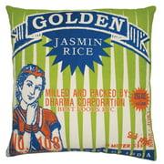 Koko Company Rice Golden Decorative Pillow