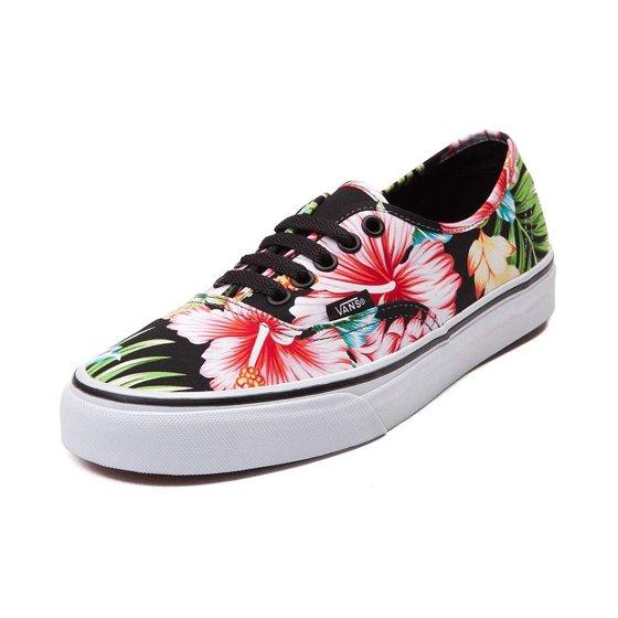 44df42106d Vans - Vans Unisex Authentic Hawaiian Floral Skate Shoes-Hawaiian ...