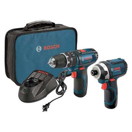 Bosch CLPK241-120 12-Volt 3/8-Inch Max 2-Tool Hammer and Impact Driver Kit