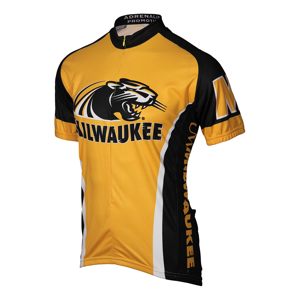 Adrenaline Promotions University of Wisconsin-Milwaukee Panther Cycling Jersey