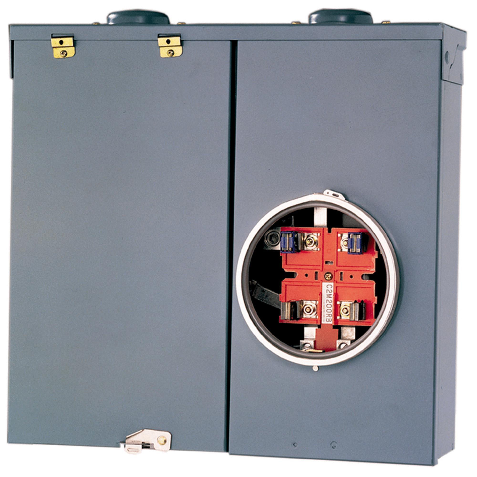 Square D QO CSED Meter Breaker Panel