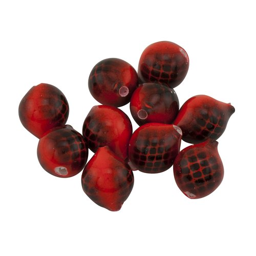 Lil' Corky, Rocket Red/Black, 10pk