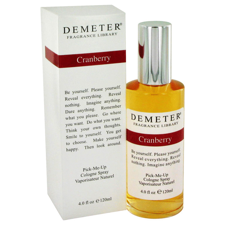 Demeter by Demeter Cranberry Cologne Spray 4 oz for Women