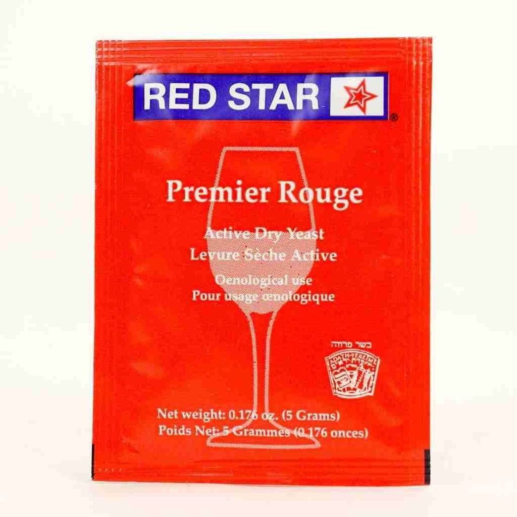 Red Star Premier Rouge Wine Yeast 5 gm