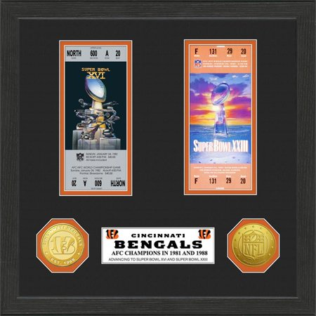Cincinnati Bengals Sb Championship Ticket Collection