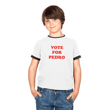Napoleon Dynamite Vote For Pedro Youth White T-shirt (Shop Vogue)