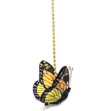 Monarch Butterfly Ceiling Fan Pull