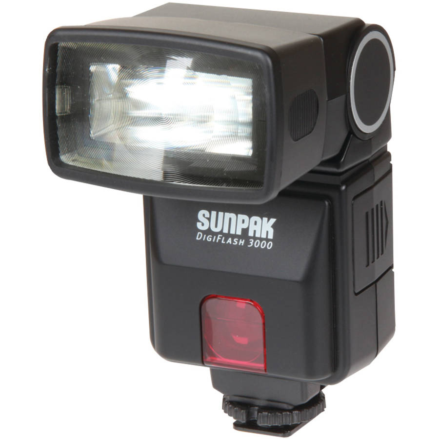 Sunpak Df3000nx DF3000 Digital Flash for Nikon DSLR Cameras
