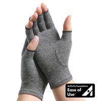 IMAK Compression Arthritis Glove Open Finger Large, 2 Pack