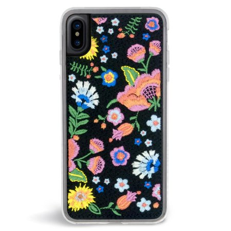 sale retailer cc7d7 15013 Zero Gravity Apple iPhone X Marie Case - Embroidered Floral Design - 360°  Protection, Drop Test Approved