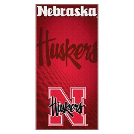 Nebraska Cornhuskers NCAA Northwest Beach Bath Towel