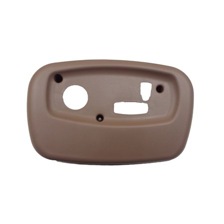 - DRIVERS SEAT SWITCH BEZEL BROWN FITS 2002-2004 TRAILBLAZER ENVOY BRAVADA