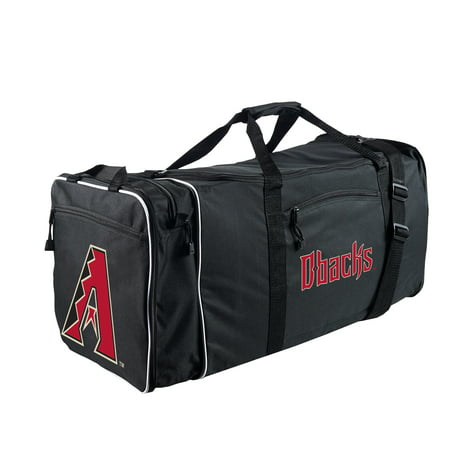 "MLB Arizona Diamondbacks ""Steal"" 12""H x 28""L x 11"" W Duffel Bag (Mlb Duffel Bag)"