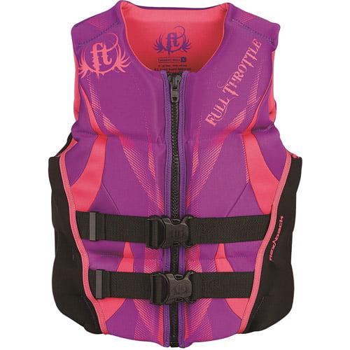 Full Throttle Women's Hinged Rapid-Dry Flex-Back, Purple by Full Throttle