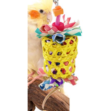 Bonka Bird Toys 1515 Small Drum Bird Toy. (Drum Bird Toy)