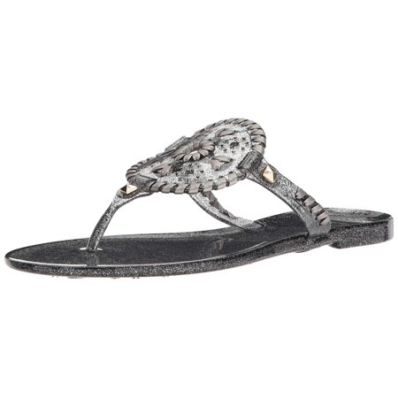 a032df68c95 Jack Rogers - Jack Rogers Women s Sparkle Georgica Jelly Sandal ...