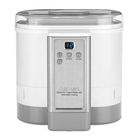 Cuisinart Electronic Yogurt Maker With Automatic Cooling  White