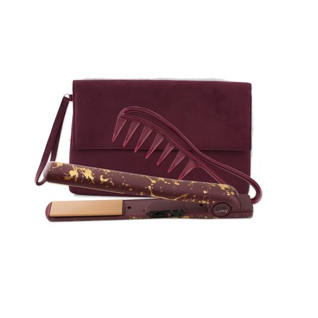 CHI Classic Tourmaline Ceramic Flat Iron Straightener, Comb, Bag, 1