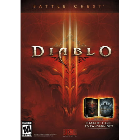 Diablo III Battle Chest, Blizzard Entertainment, PC,