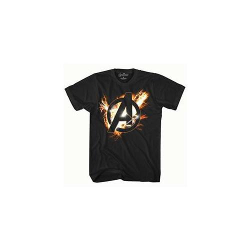 Mad Engine Inc.  The Avengers Black T-Shirt 14 - 14