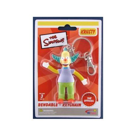 The Simpsons Krusty the Clown Bendable - Krusty The Clown