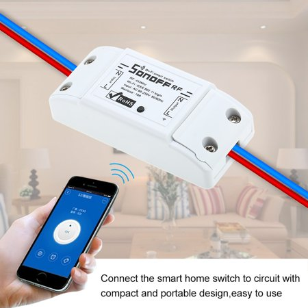 3PCS RF Wifi Switch RF 433MHz Compatible with for Home 10A/2200W Wireless  Switch with Timing Function for Android/IOS APP Control with 2PCS 3 Gang 86