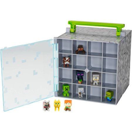 MineCraft Mini Figure and Case