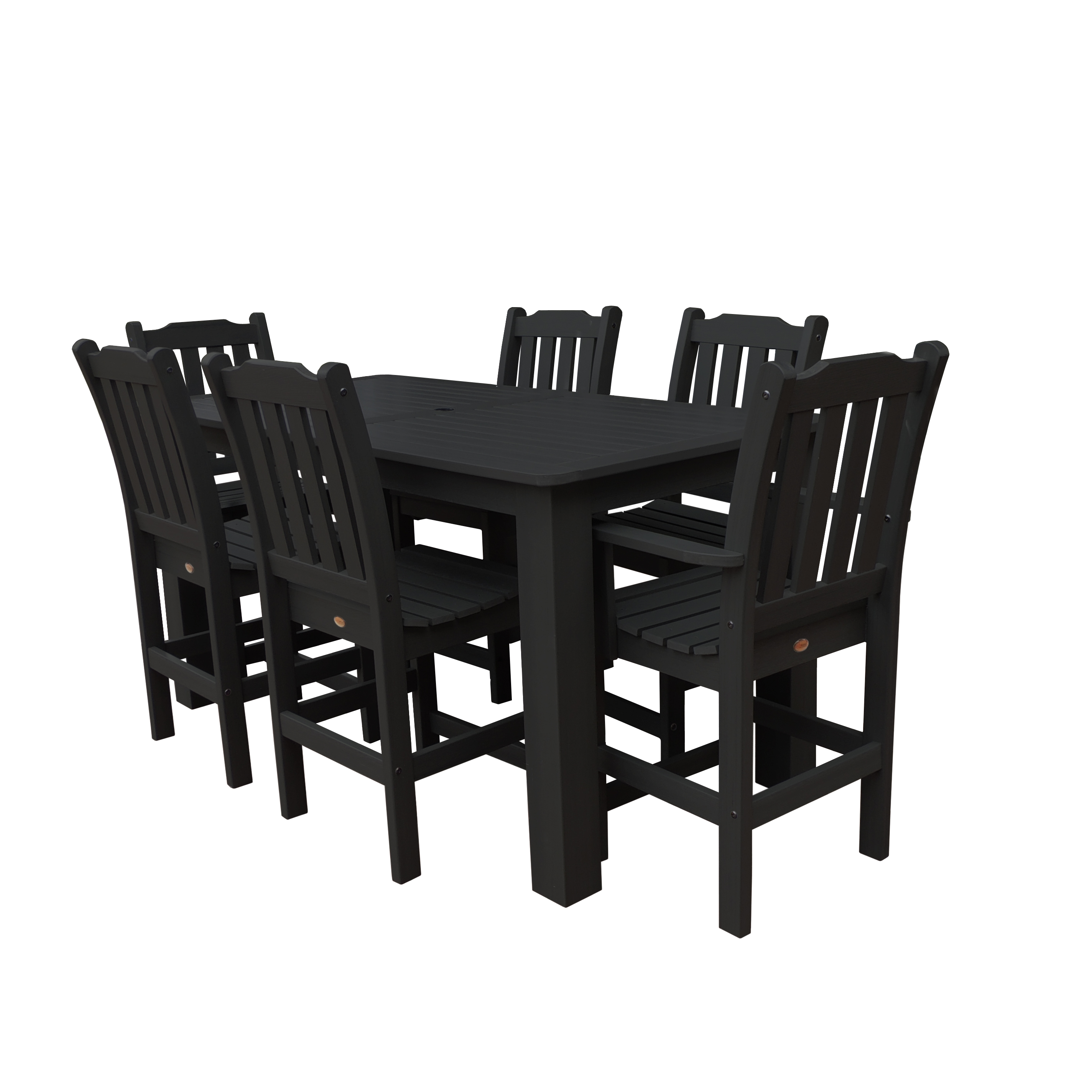 highwood® Eco-Friendly Lehigh 7pc Rectangular Counter Dining Set