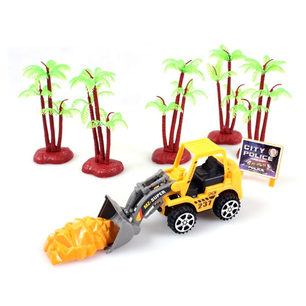 Puzzlesupplies Artificialmodeltoycar Machineshop Truck Ar...
