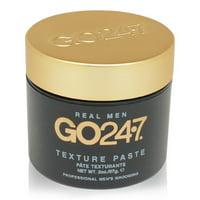 GO247 Real Men Hair Texture Paste, 2 Oz
