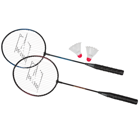 EastPoint Sports 2-Player Badminton Racket Set with Steel