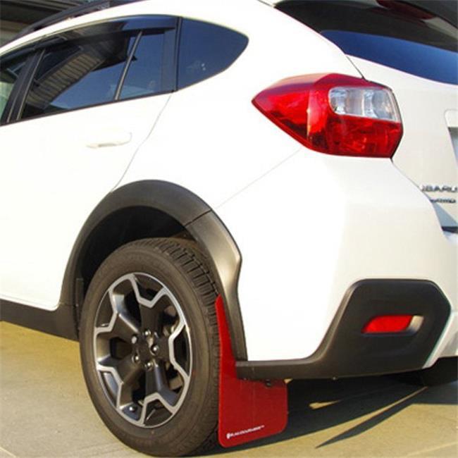 Rally Armor MF27-UR-WH//BCPK Pink 13-18 Ford Focus SE//Titanium//ST UR White Mud Flap with BCA Logo