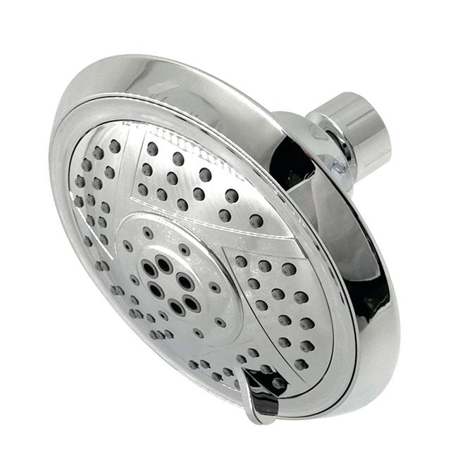 Kingston Brass KX1551 Modern Vilbosch 5 in. 5-Function Shower Head - Polished Chrome