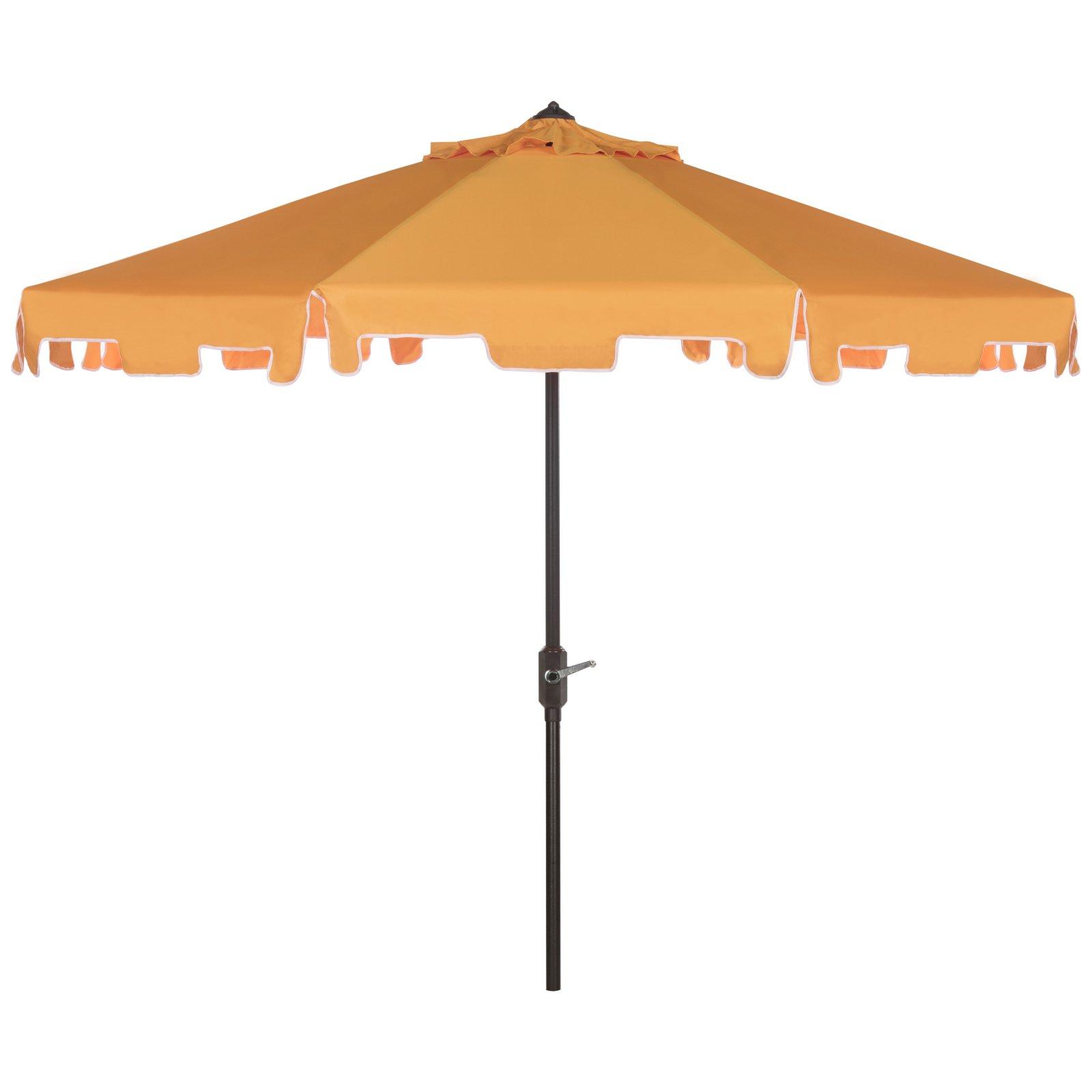 Safavieh Zimmerman Outdoor 9' Market Umbrella, Multiple Colors by Safavieh