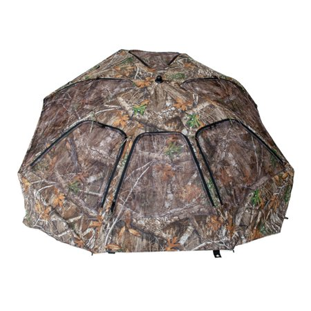 Cooper Hunting Big Tom 2 Man Turkey Hunting Ground Blind, RealTree EDGE Camo