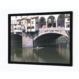 """Imager High Contrast Cinema Vision Fixed Frame Projection Screen Viewing Area: 49"""" H x 87"""" W"""