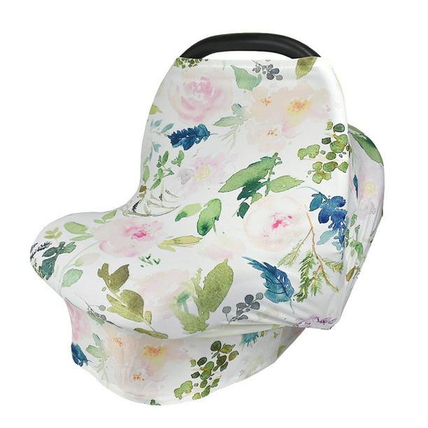 Car Seat Covers for Babies Breastfeeding Ups Nursing Scarf Carseat Canopy Multi-use Nursing Cover Breastfeeding Covers