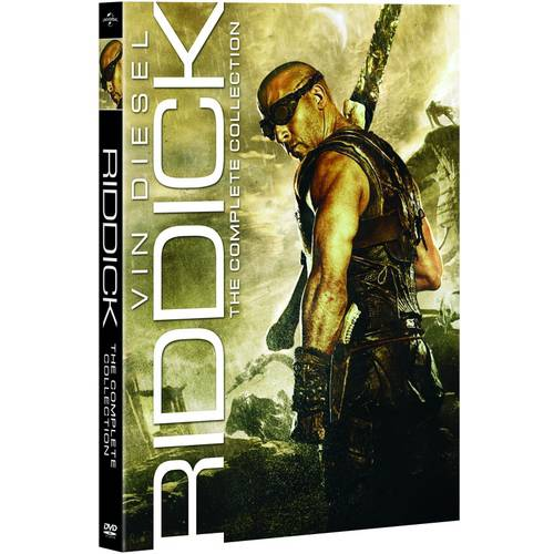 Riddick: The Complete Collection - Pitch Black / The Chronicles Of Riddick / The Chronicles Of Riddick: Dark Fury / Riddick (With INSTAWATCH)