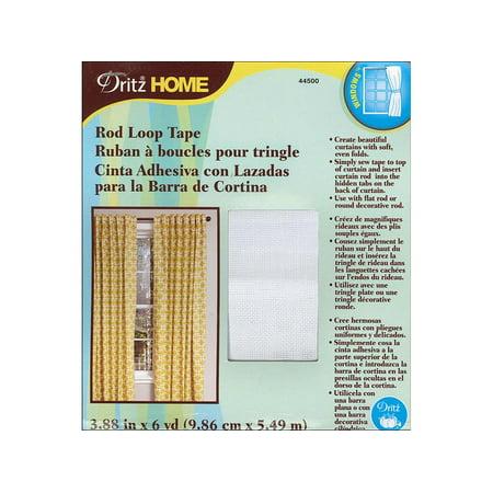 Dritz Home Tape Rod Loop 3 7/8