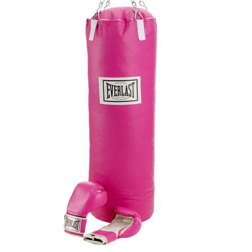 Everlast Hope Pink Heavy Bag Boxing Set